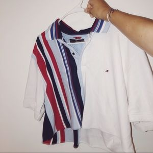 Tommy Hilfiger Cropped Shirt / Brandy Melville